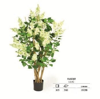 Flieder creme 105 cm - Kunstpflanze