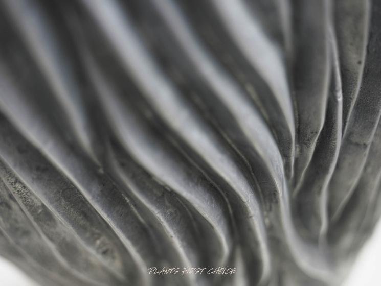 River Aluminium Pflanzvase
