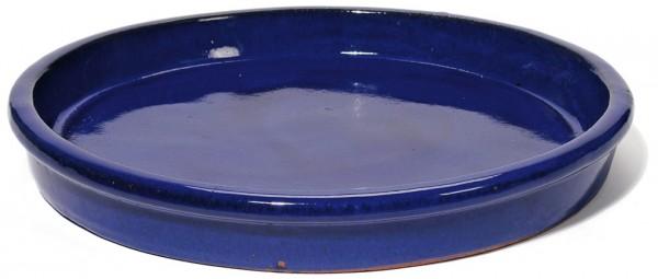 Untersetzer rund | Königsblau Keramik