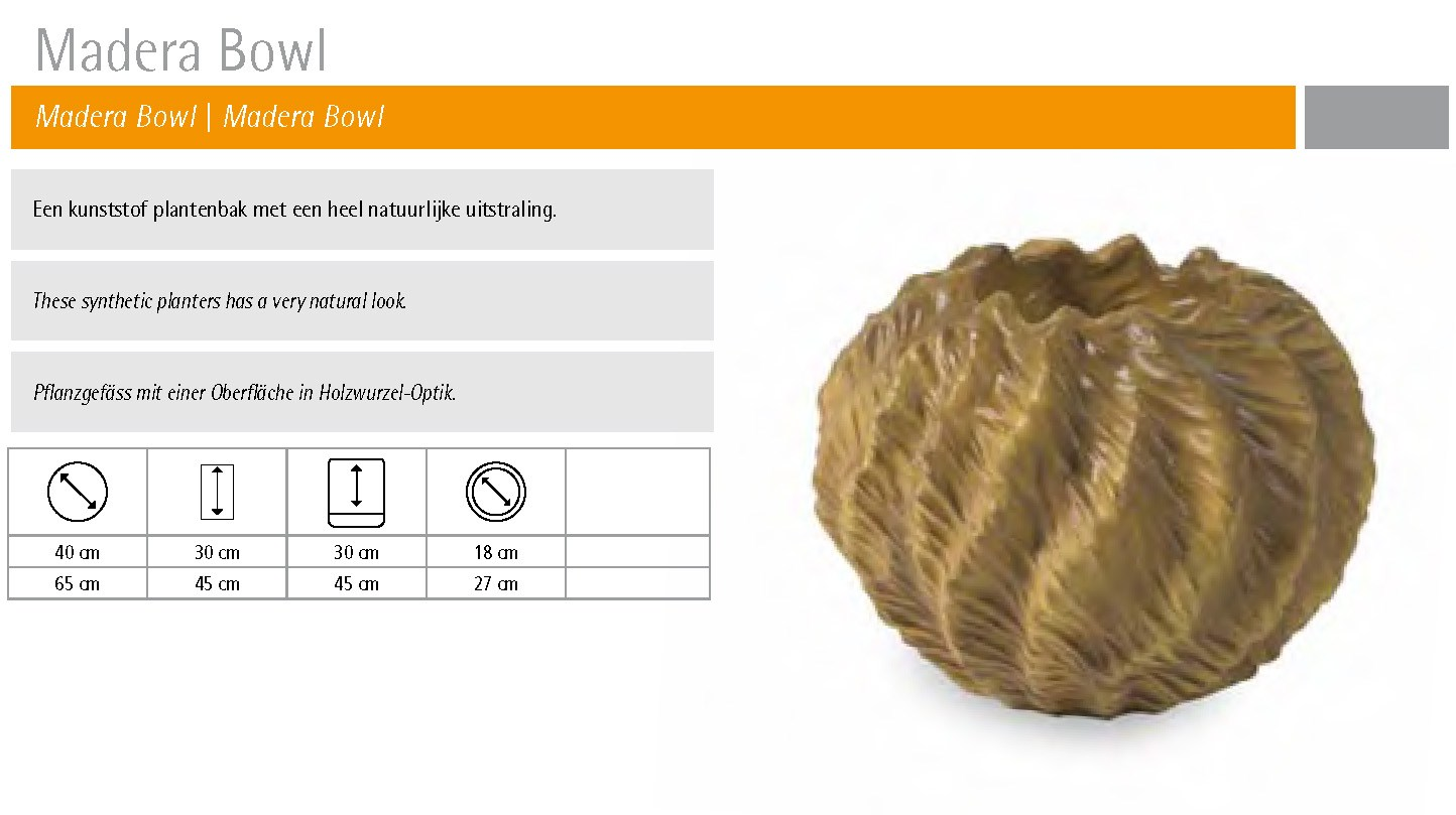 madera bowl