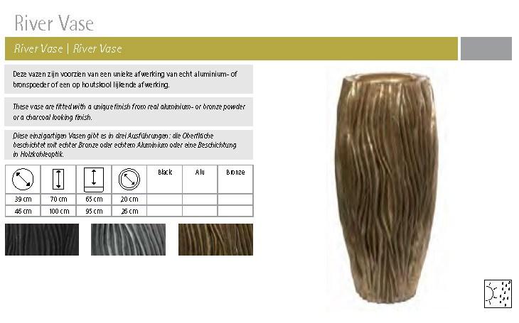 River Vase