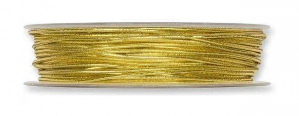 Gimpeband Lurex gold 2 mm - 50 m