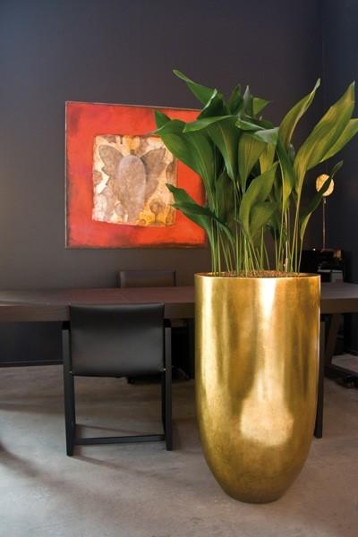 Pandora gold leaf | Blattgold Pflanzvase