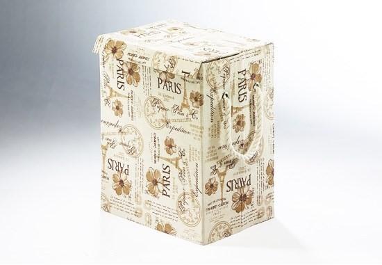 Wäschebehälter mon amour | Schachtel und Box im Nostalgielook