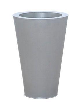 Zink Metallook Pflanzvase