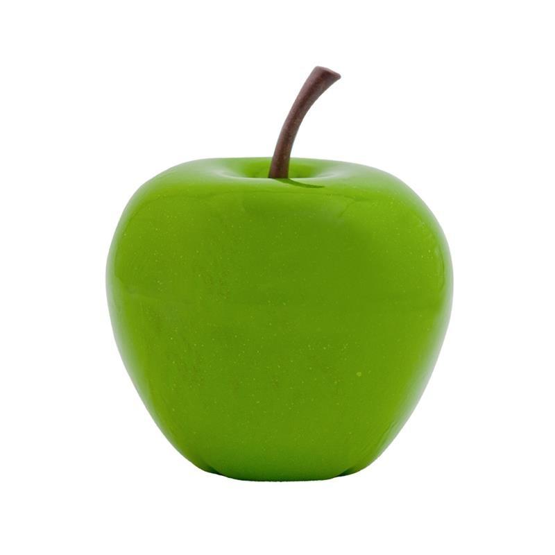 apfel gr n apple fruit ein kunstobjekt aus fiberstone terrapalme heim und gartenshop. Black Bedroom Furniture Sets. Home Design Ideas