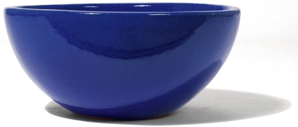 Schale Emisfera   Königsblau Keramik   Terrapalme Heim- und Gartenshop