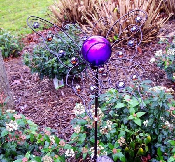 Lilly | Schmetterling Gartenstecker