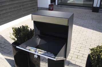 Allux-Grundform-Design-Briefkasten-offen