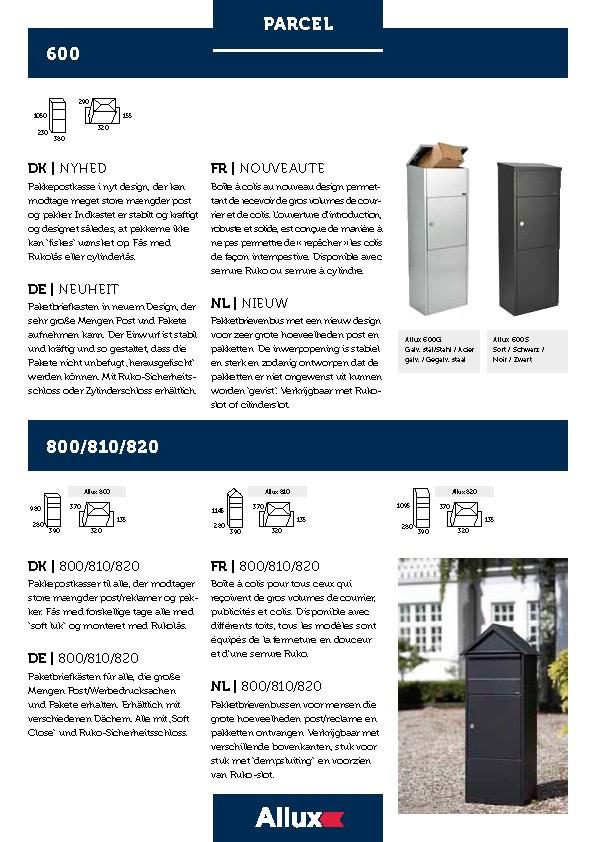 Allux-Parcel-600-800-810-820-Design-Briefkasten-Serie