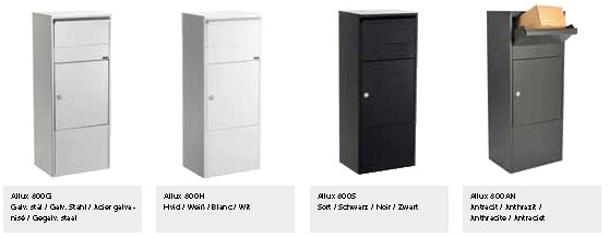 Allux-Parcel-800-Design-Briefkasten-Serie