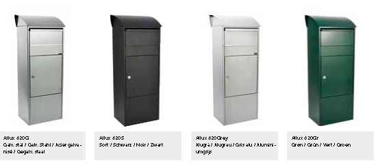 Allux-Parcel-820-Design-Briefkasten-Serie