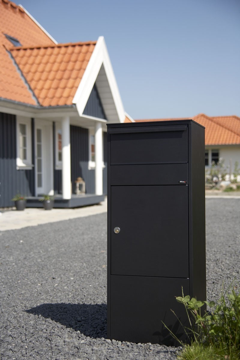 allux briefkasten 800 parcel terrapalme heim und gartenshop. Black Bedroom Furniture Sets. Home Design Ideas
