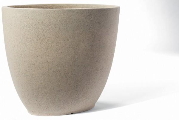 Canberra Cream Pflanzkübel oval | ArtLine Stone