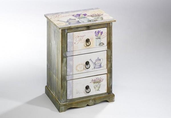 Provence Deko Holz-Kommode