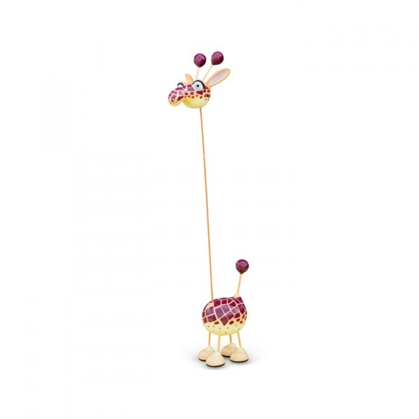 Crazy Giraffe - A - Cartoon Design Mia Coppola
