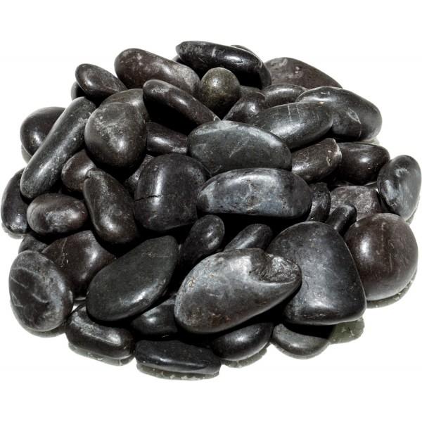 Flusskiesel 2-4 cm | Schwarz
