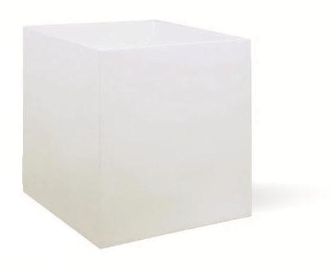 Cubus | Pflanzkübel weiß