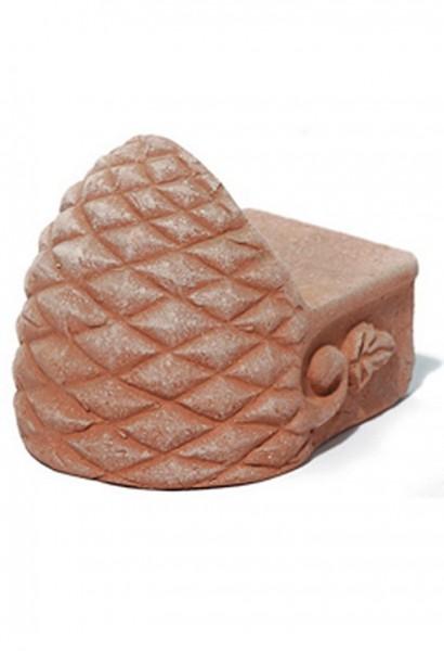 Terracotta Pinienfuß  4er Set | TerraDura