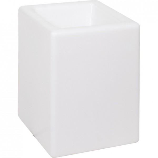 BLOOM! Square - Outdoor Leuchtkübel aus Kunststoff