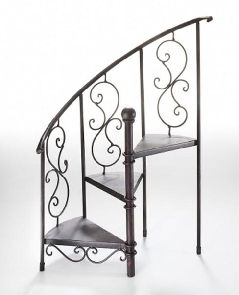 Stairs Pflanztreppe antikbraun aus Metall