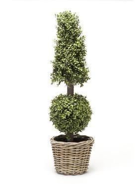 Buxus Pyramide/Kugel 130 cm - Kunstpflanze