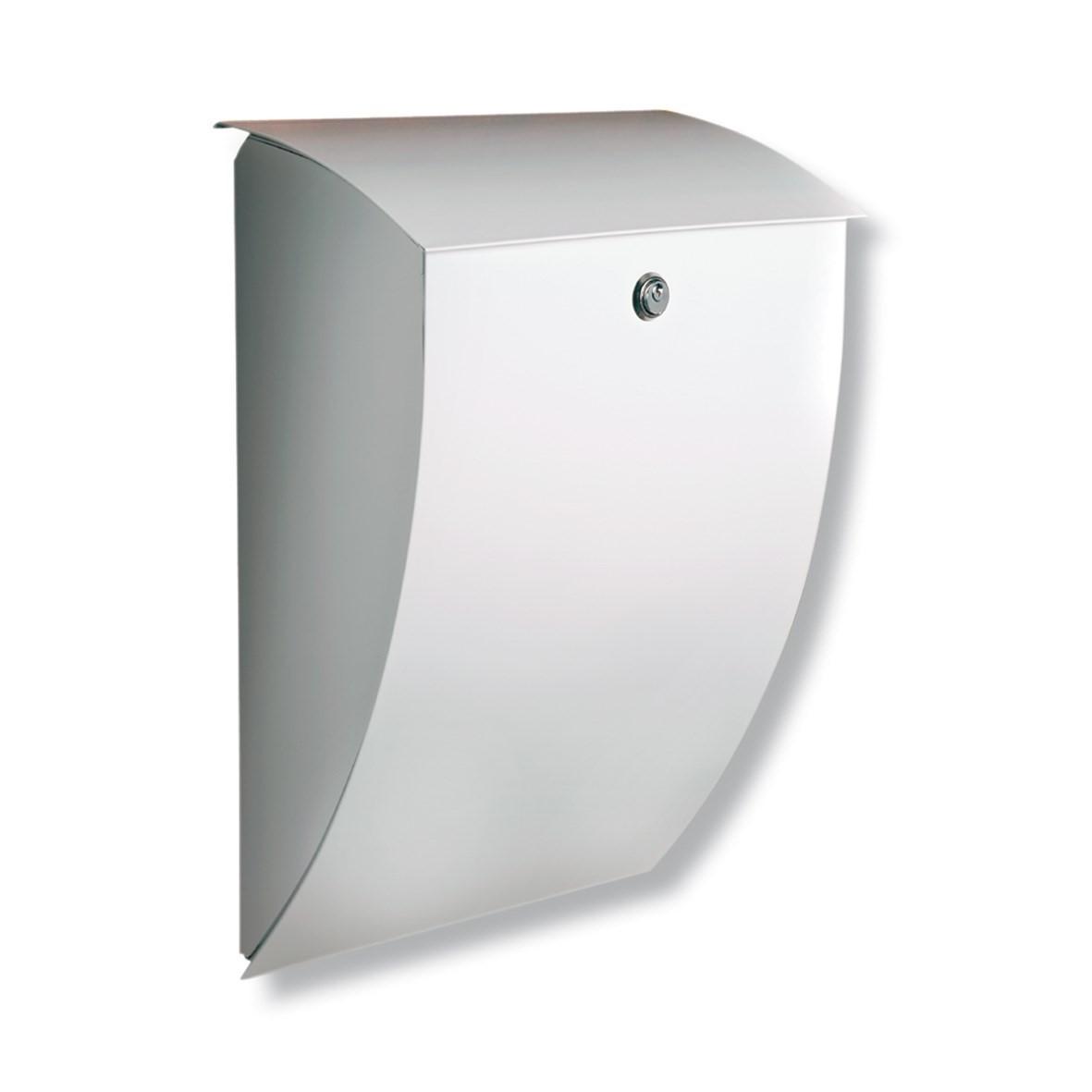 Briefkasten Aus Holz Und Verzinktem Metall ~   Burg Wächter Milano BURG WÄCHTER  Briefkasten aus verzinktem Stahl