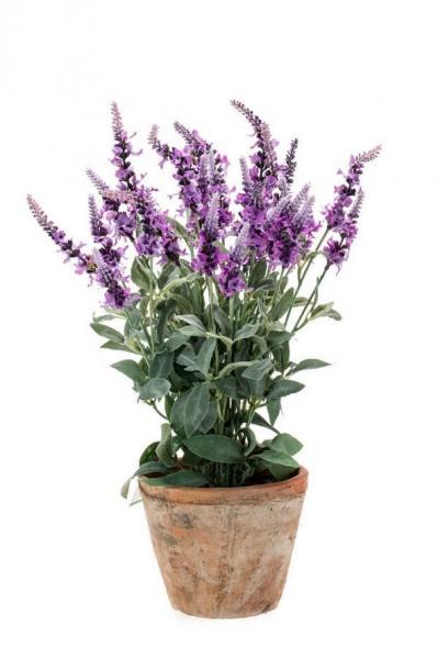 Lavendel Kunstblumenbusch 45 cm