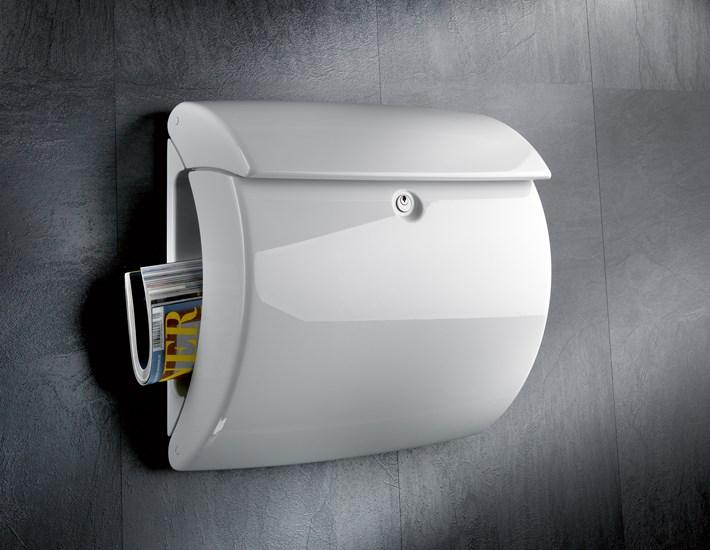 Piano-Kunststoff-Briefkasten-weiss-BKPiano886W-Stimmungsbild