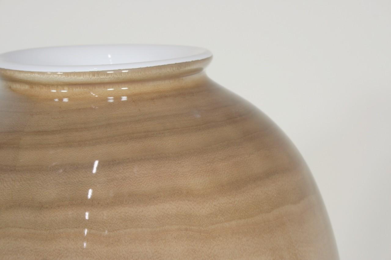 Woody Vase shiny | Holz Pflanzvase