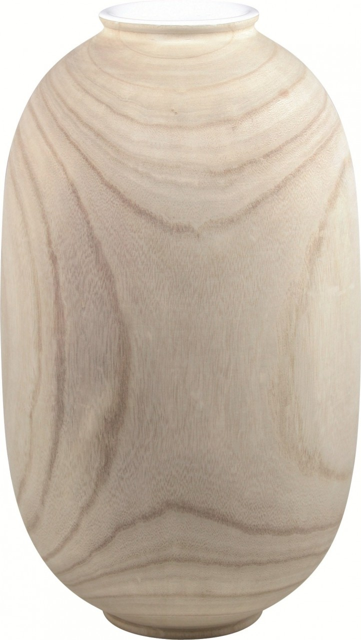 Woody Pflanzvase naturel | Holz