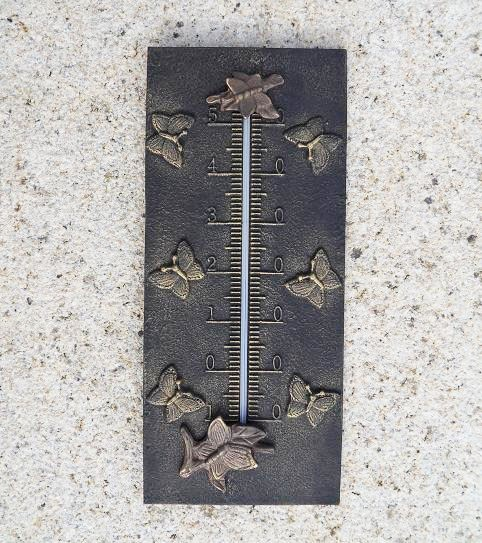 Bronze Analog-Thermometer | Libelle