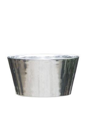 Aluminium Poliert Tub  Pflanzkübel