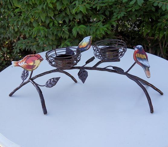 Vogelzweig Teelicht | Leuchter