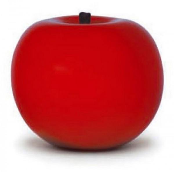 Keramik Apfel red urucom   Cores da Terra