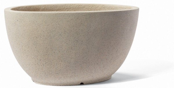 Albany Cream Pflanzkübel oval | ArtLine Stone