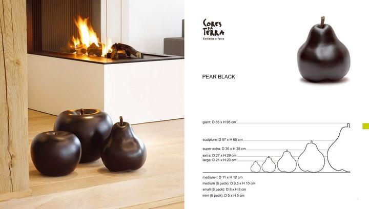 pear-birne-apple-apfel-schwarz-keramik-stimmungsbild-cores-da-terra