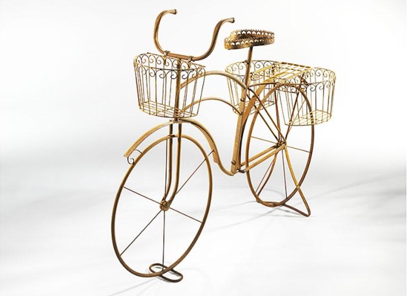 resla das naturrost metall deko fahrrad f r pflanzen terrapalme heim und gartenshop. Black Bedroom Furniture Sets. Home Design Ideas