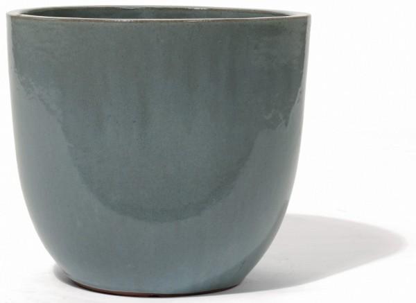 Vaso Pinolo | Lichtgrau Keramikkübel