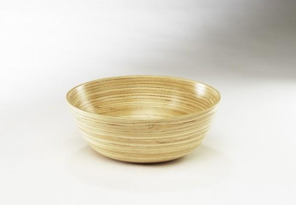 Dekoschale aus Bambus natur