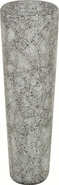 Conical aqua   Glasmosaik Pflanzvase