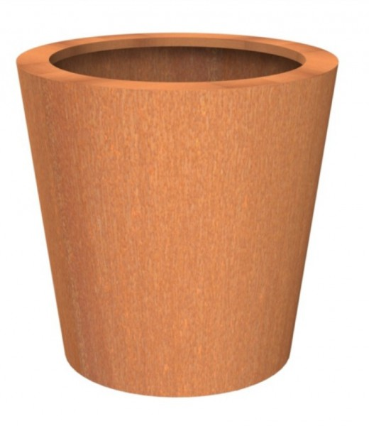 Cado Pflanztopf Corten Stahl - Roststahl