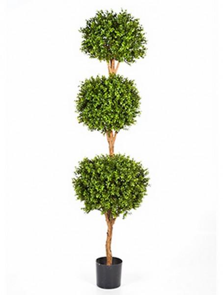Boxwood tripleball 190 cm - Kunstbuchsbaum
