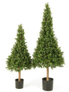 Buxus Pyramide 90 cm - Buchsbaum Kunstpflanze