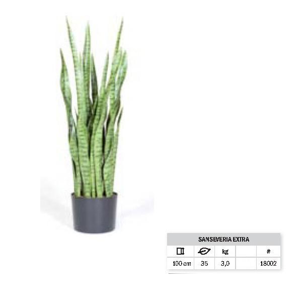 Sansevieria Extra 100 cm | Bogenhanf Kunstpflanze