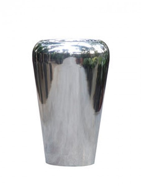 Aluminium Poliert Conical Facet Planzvase