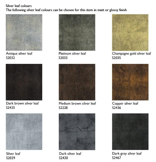 Dekosäulen Farbmöglichkeiten