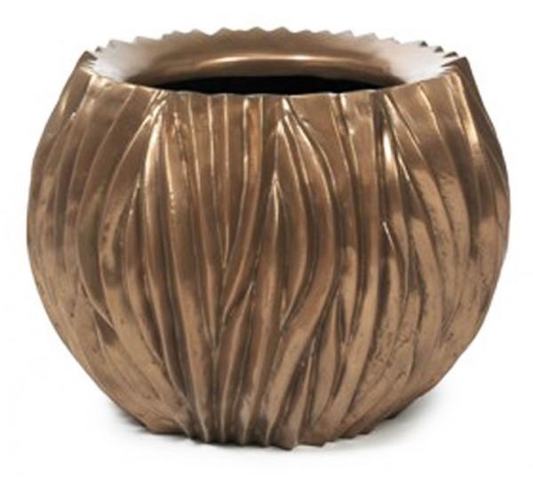 Pflanzkübel River Bowl Bronze