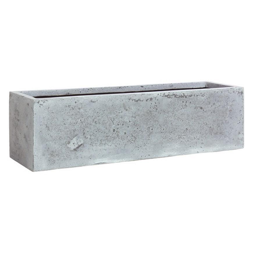 flowerbox polystone pflanztrog terrapalme heim und. Black Bedroom Furniture Sets. Home Design Ideas
