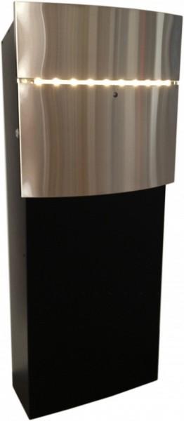 LED Briefkasten - Safe Post 12-8 der Designer-Briefkasten